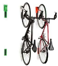 cycloc wall mounted bike holders. Black Bedroom Furniture Sets. Home Design Ideas